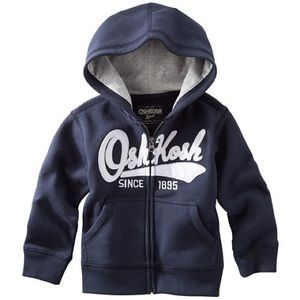 Oshkosh B'gosh - Zip up front Hoodie (NWT)